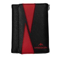 Mission Wallet Flint Black Red