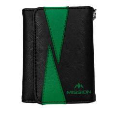 Mission Wallet Flint Black Green