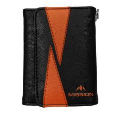 Mission Wallet Flint Black Orange