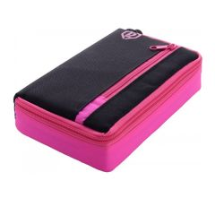 One80 Wallet D-Box Medium Black Pink | SALE