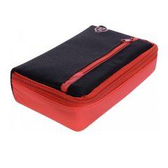 One80 Wallet D-Box Medium Black Red | SALE