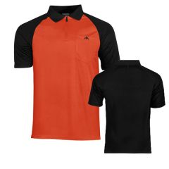 Mission Dartshirt Exos Orange Black-1-XL | SALE