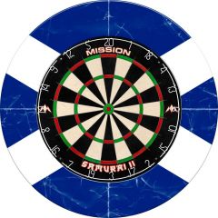 Designa Dartboard Surround - Design Collection - Heavy Duty - Schotland