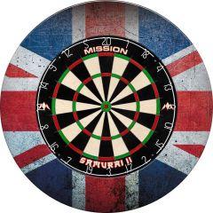 Designa Dartboard Surround - Design Collection - Heavy Duty - Union Jack