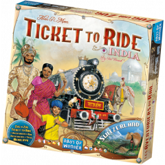 Ticket To Ride - India / Zwitserland Uitbreiding