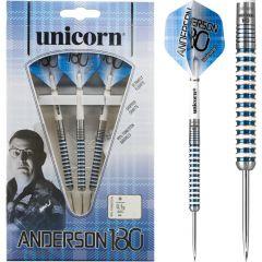 Unicorn Anderson 180 Darts - Steel Tip - Gary Anderson - Special Edition