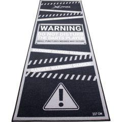 Dartmat Carpet Cool Grey Warning 237x80 cm