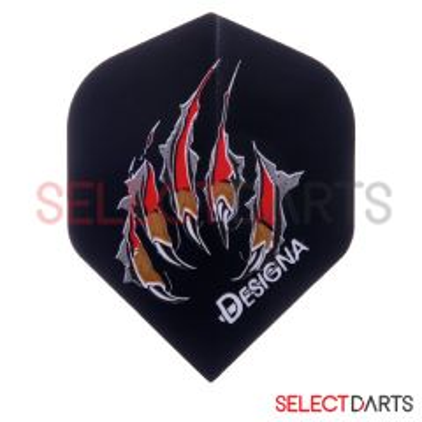 Designa Flight Std Claw Black | OP=OP