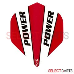McCoy Flights Power Solid Black Red White