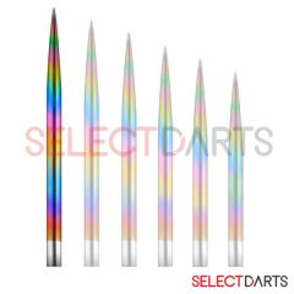 Mission Dartpunt Rainbow-40 mm