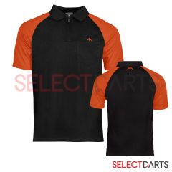 Mission Dartshirt Exos Black Orange-2-XL | SALE