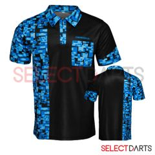 Designa Dartshirt Black Blue-M | SALE